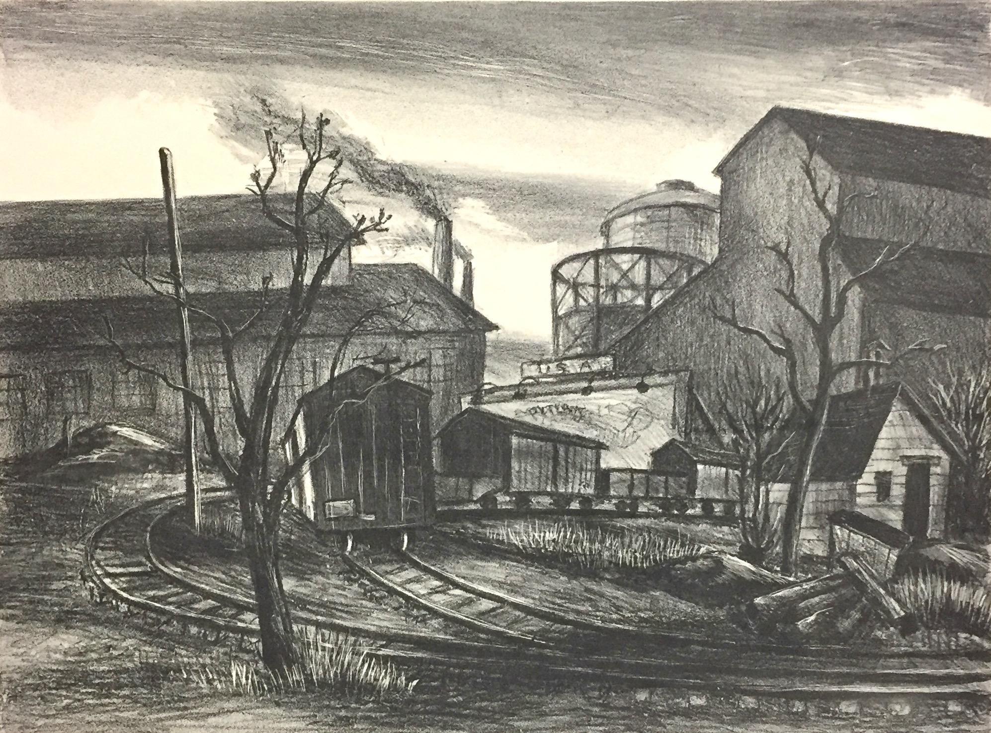 (Industrial Landscape, New York City)