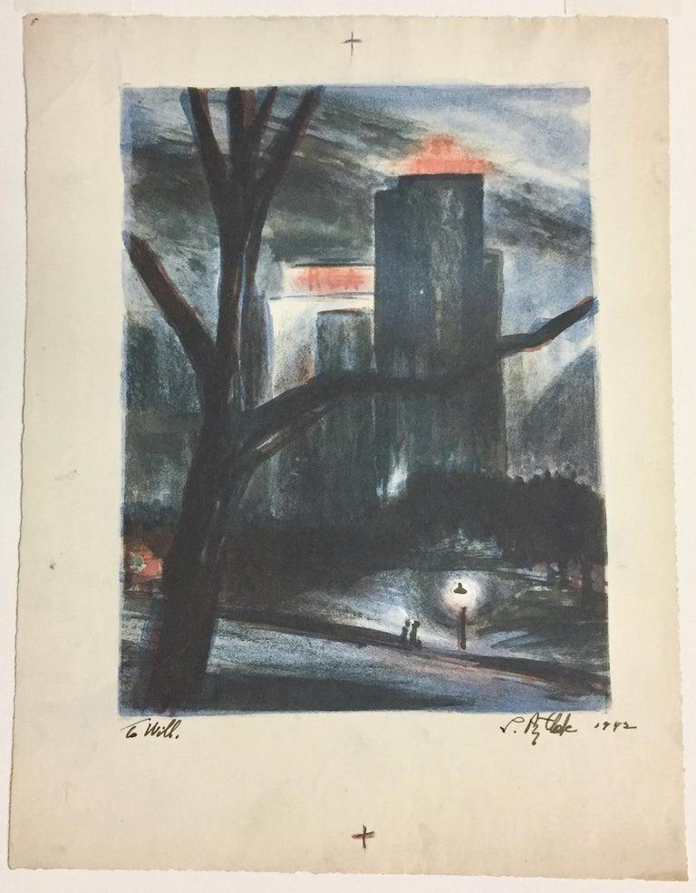 RCA Building - Print by Leonard Pytlak