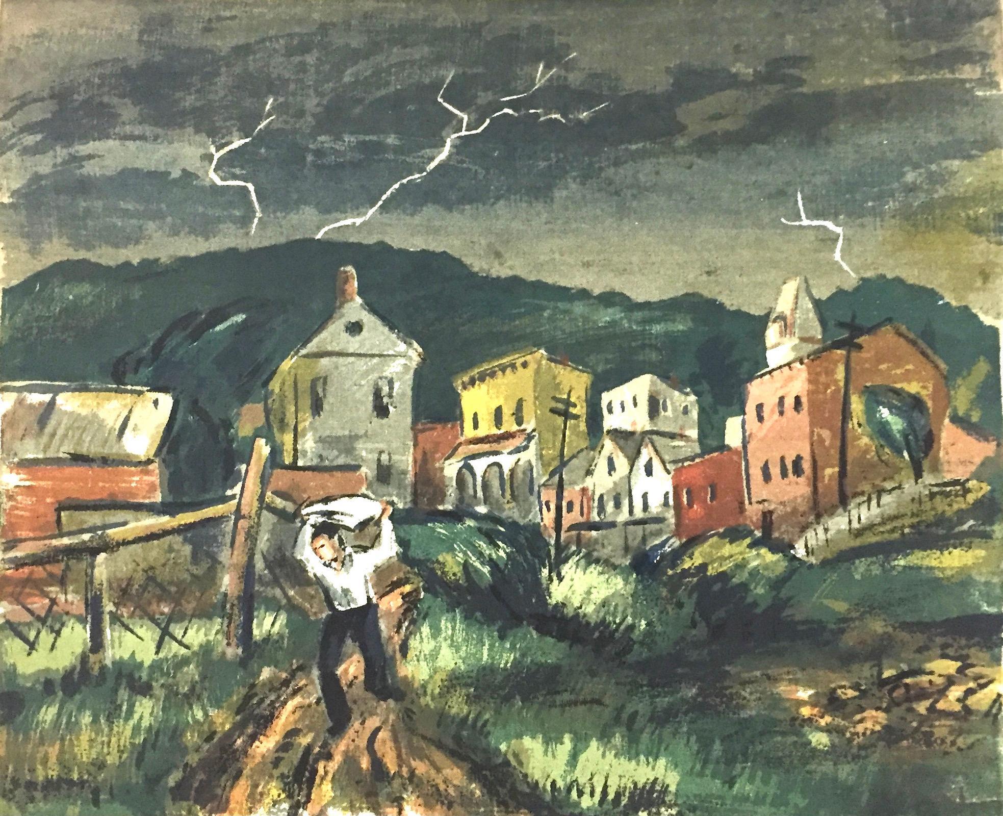 Thunderstorm, Haverstraw (New York State)