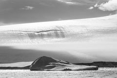 Leonard Sussman, Small Iceberg and Glacier, Antarctica, documentary photograph