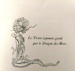 Le Dragons des Mers - Original Vintage Book Illustrated by L.T. Foujita