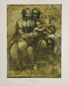 Cartoon: The Virgin and Child with S. Ann and S. John the Baptist-Poster.