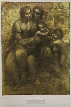 The Virgin and Child with St. Anne and John the Baptist-Poster.