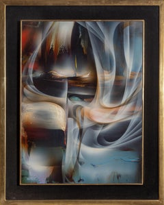 Dream, Abstract Painting by Leonardo Nierman