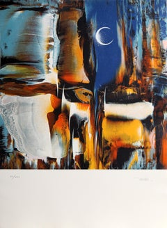 Cosmic Energy Suite 2, Abstract Lithograph by Nierman