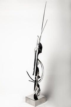 "Leonardo Nierman Massive Lifesize 66"" Sculpture 1/6 Signed Cello"
