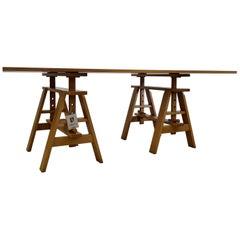 Leonardo Table by Achille Castiglione for Zanotta