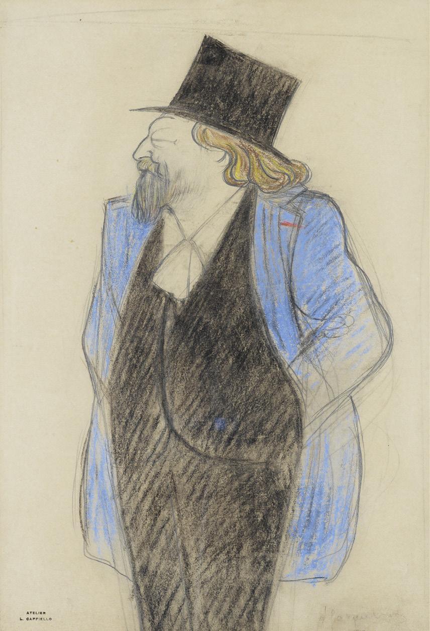 Portrait of Catulle-Mendes