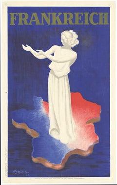 """Frankreich, """"France"""" original vintage poster"""