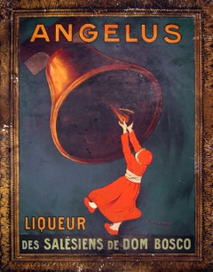 "Original Antique French Poster, ""Angelus Liquer"", Leonetto Cappiello, Lithograph"