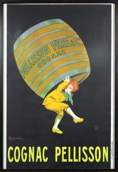 Original vintage Cognac Pellisson poster by Leonetto Cappiello