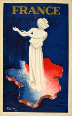 Original Vintage World's Fair Poster 1937 Exposition Internationale Paris France