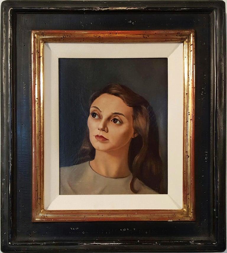 Leonor Fini Portrait Painting - Portrait de Femme