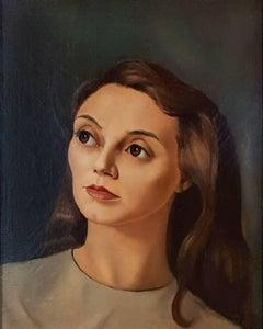 Portrait de Femme, Portrait of a Young Woman