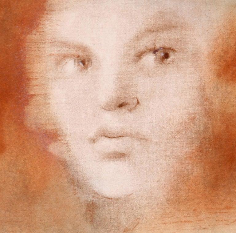Evisa, Surrealist Lithograph by Leonor Fini For Sale 1