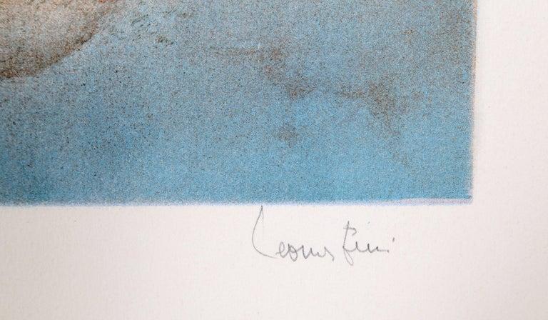 Evisa, Surrealist Lithograph by Leonor Fini For Sale 2