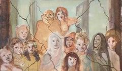 Figures - Original Lithograph by Leonor Fini - 1960