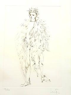 Leonor Fini - Angel - Original Handsigned Lithograph
