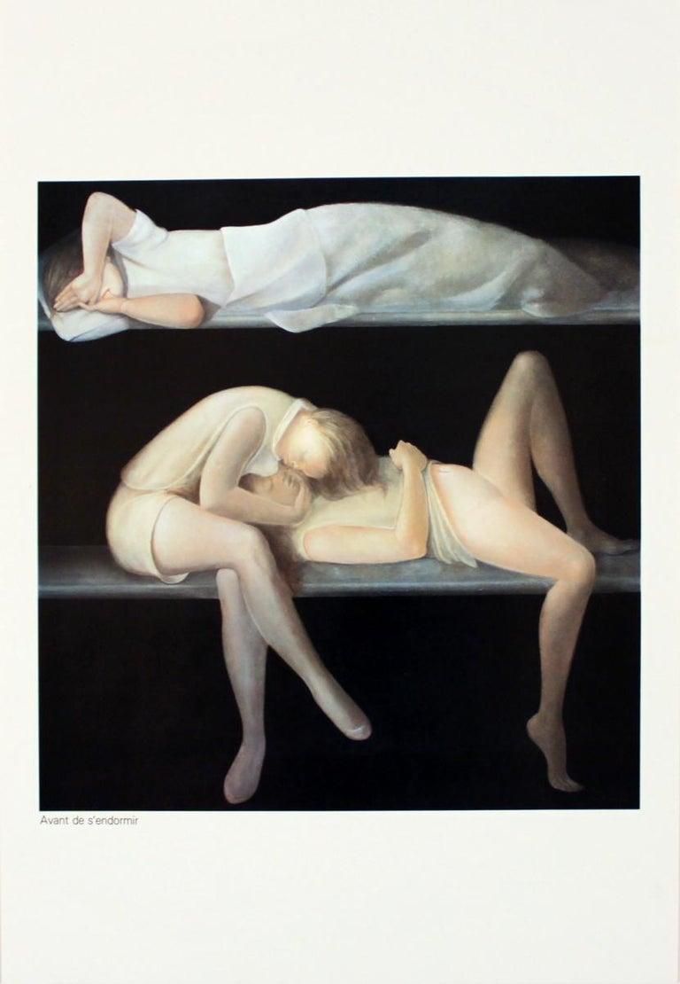 "Leonor Fini-Avant de S'Endormir-15.75"" x 11.25""-Poster-Surrealism-Multicolor - Print by Leonor Fini"