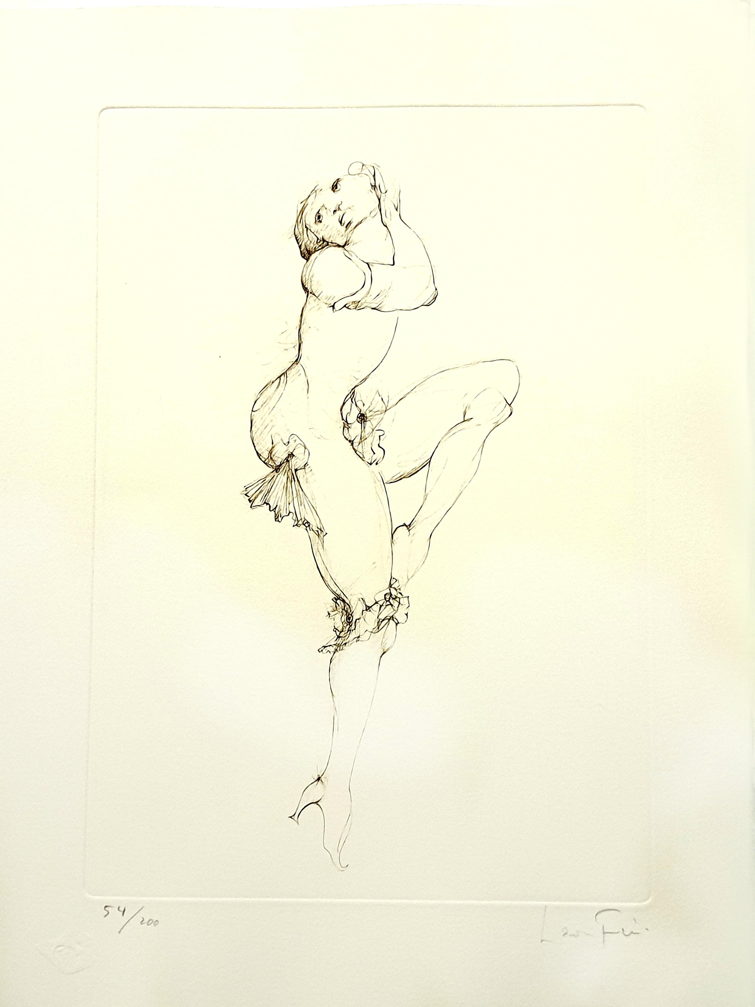 Leonor Fini - Dancing - Original Handsigned Lithograph
