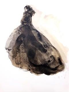 Leonor Fini - Dressed-up - Original Lithograph