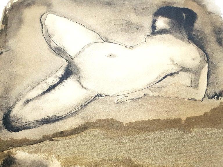 Leonor Fini - Duo - Original Lithograph For Sale 1