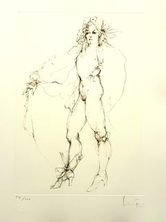 Leonor Fini - Fearless - Original Handsigned Lithograph