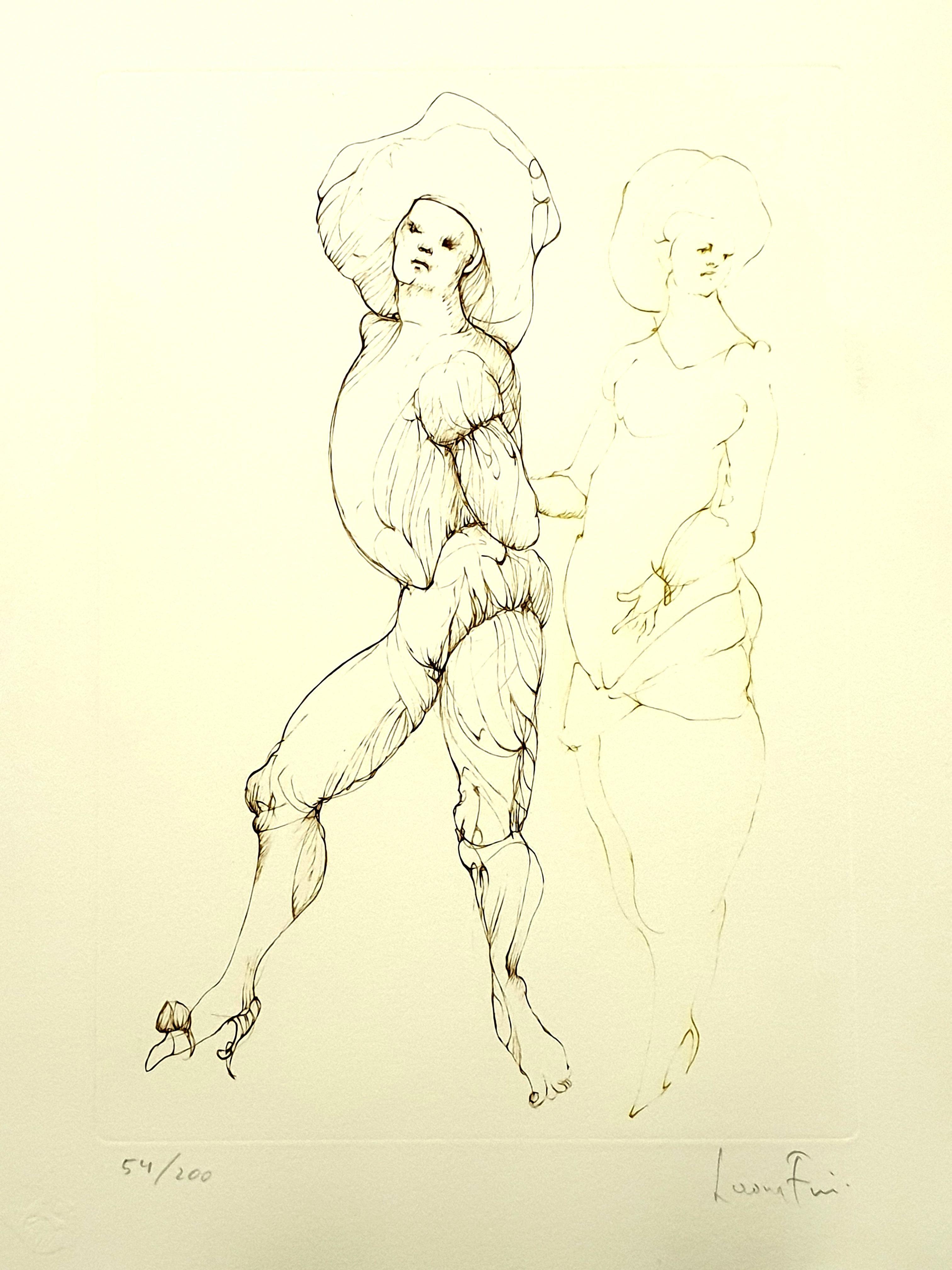 Leonor Fini - Friends - Original Handsigned Lithograph