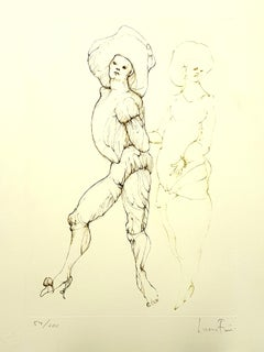 Leonor Fini - Friends - Original Handsigned Lithograph