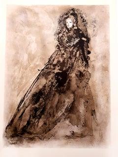 Leonor Fini - Original Lithograph