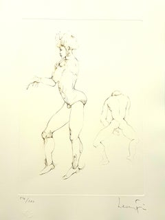 Leonor Fini - Playing - Original Handsigned Lithograph