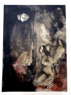 Leonor Fini - Prisonners - Original Lithograph