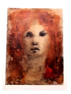 Leonor Fini - Red-Hair - Original Lithograph