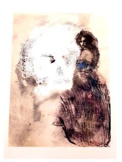 Leonor Fini - Road to Death - Original Lithograph