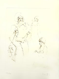 Leonor Fini - Servants - Original Handsigned Lithograph