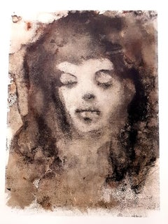 Leonor Fini - Sleeping - Original Lithograph