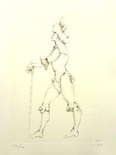 Leonor Fini - The Cane - Original Handsigned Lithograph