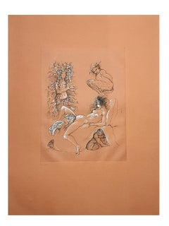 Leonor Fini - Toads  - Original Handsigned Lithograph