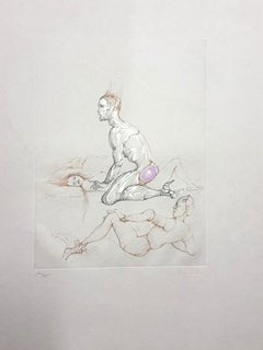 Leonor Fini - Untitled - Original Handsigned Etching