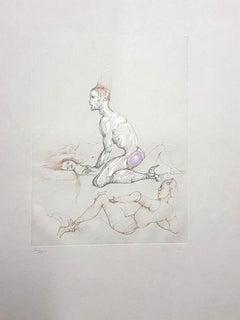 Leonor Fini - Untitled - Original Handsigned Etching