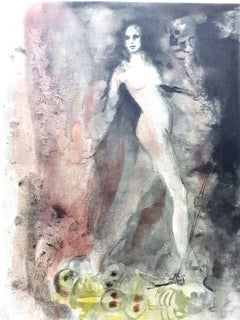 Leonor Fini - Walking on Death - Original Lithograph