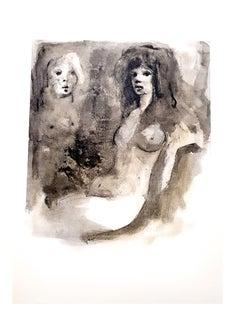 Leonor Fini - Young Beauty - Original Lithograph