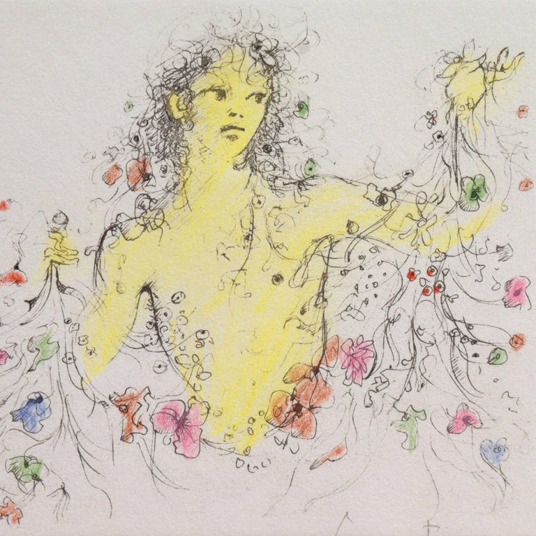 Nymph of Flowers For Sale 3