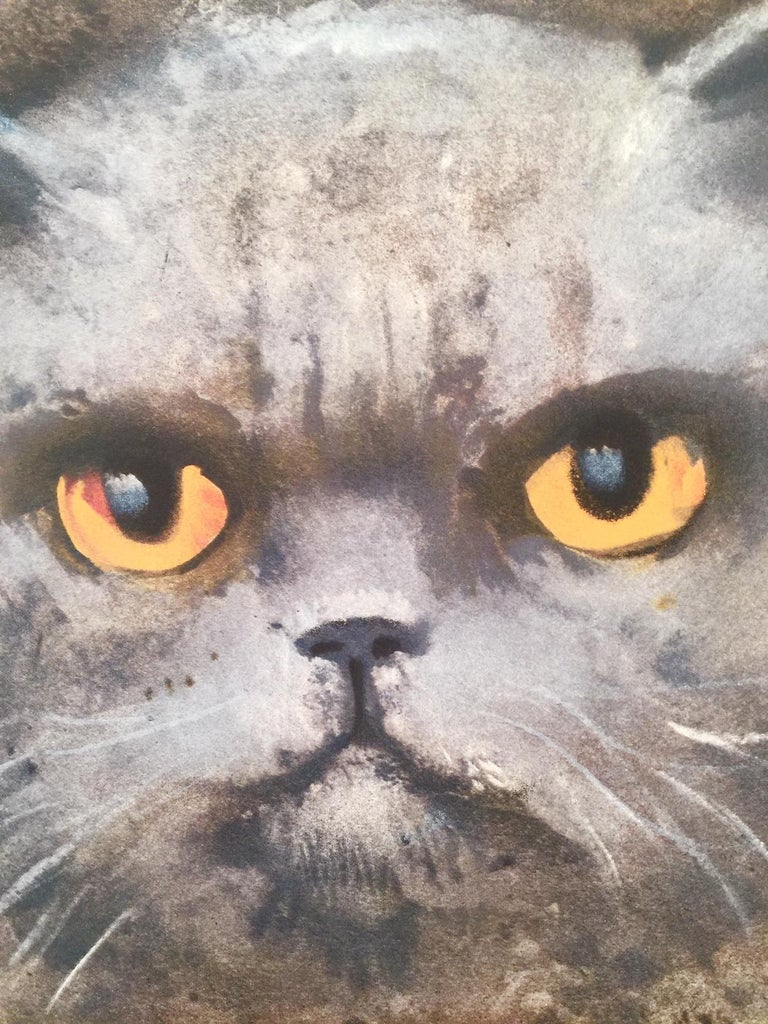 Ubu The Magical Cat - Print by Leonor Fini
