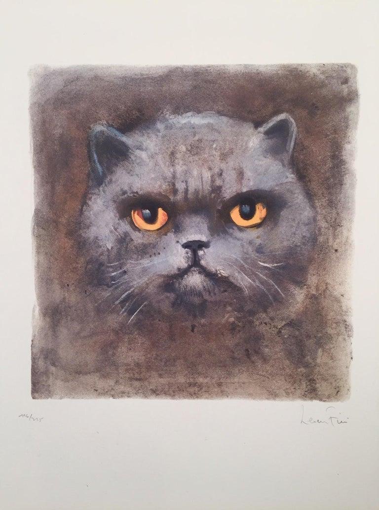 Leonor Fini Animal Print - Ubu The Magical Cat