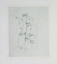 Original Etching by Leonor Fini