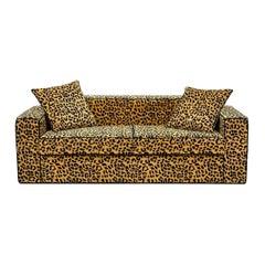 Leopard 2-Seat Sofa