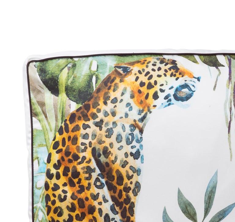 Modern Leopard Pillow For Sale