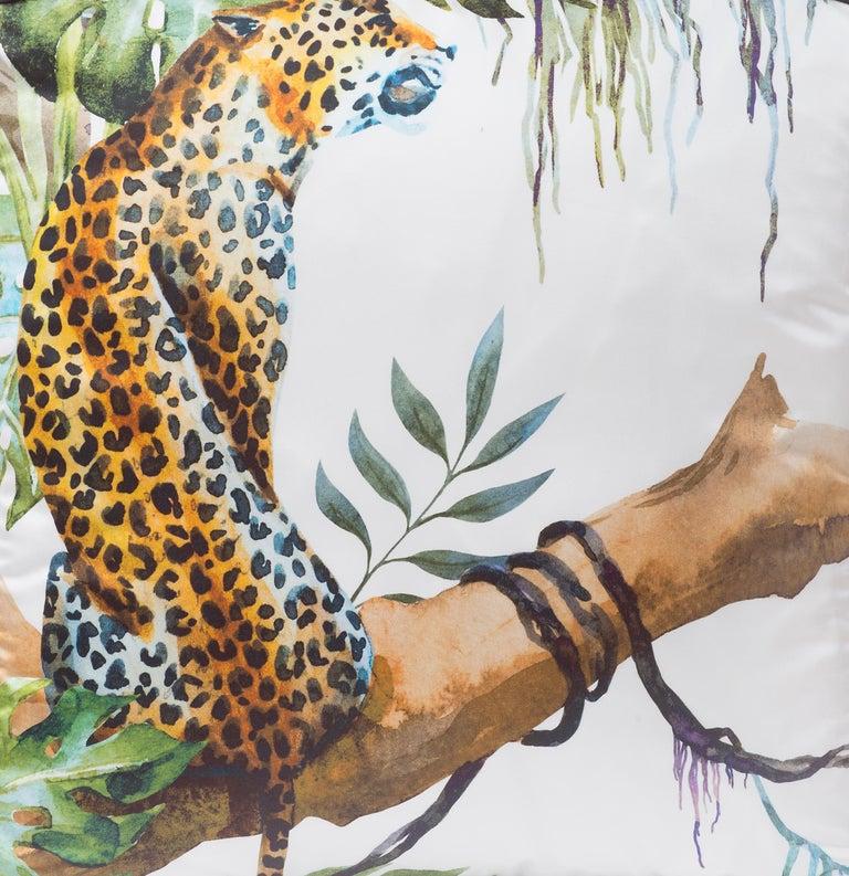 Italian Leopard Pillow For Sale