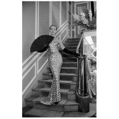 Leopard Skin Dress by Kurt Hutton Getty Image Print